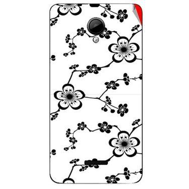 Snooky 40300 Digital Print Mobile Skin Sticker For Micromax Canvas Fun A76 - White