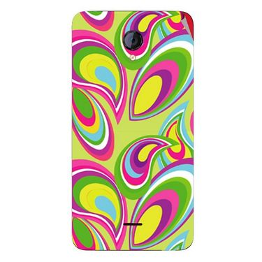 Snooky 40421 Digital Print Mobile Skin Sticker For Micromax Unite 2 A106 - multicolour