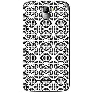 Snooky 40556 Digital Print Mobile Skin Sticker For Micromax Canvas Entice A105 - White