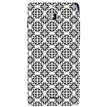 Snooky 40724 Digital Print Mobile Skin Sticker For Micromax Canvas Nitro A310 - White