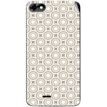 Snooky 40767 Digital Print Mobile Skin Sticker For Micromax Bolt D321 - Brown