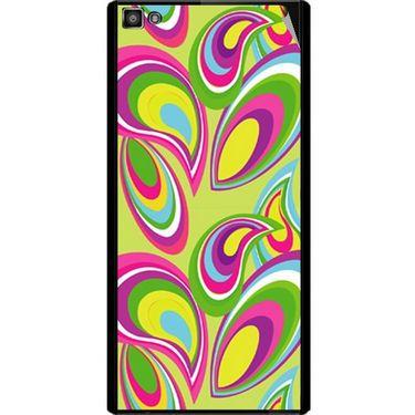 Snooky 40799 Digital Print Mobile Skin Sticker For XOLO 8X 1000 Hive - multicolour