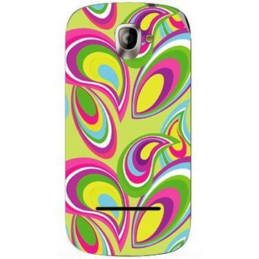 Snooky 40813 Digital Print Mobile Skin Sticker For XOLO A500 - multicolour