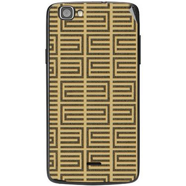 Snooky 40966 Digital Print Mobile Skin Sticker For XOLO One - Brown