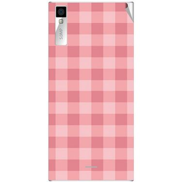 Snooky 40996 Digital Print Mobile Skin Sticker For XOLO Q600S - Pink