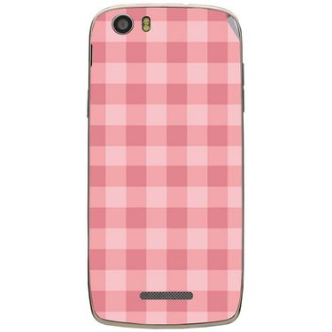 Snooky 41038 Digital Print Mobile Skin Sticker For XOLO Q700S - Pink