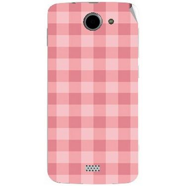 Snooky 41094 Digital Print Mobile Skin Sticker For XOLO Q1000 - Pink