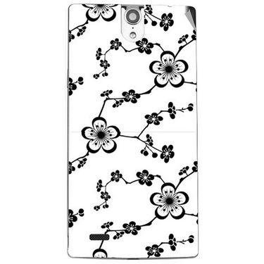 Snooky 41126 Digital Print Mobile Skin Sticker For XOLO Q1010i - White