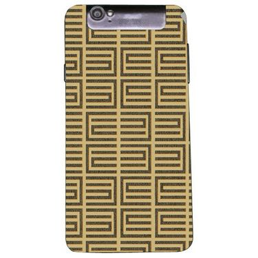 Snooky 41176 Digital Print Mobile Skin Sticker For XOLO Q3000 - Brown
