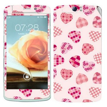 Snooky 41334 Digital Print Mobile Skin Sticker For OPPO N1 - White