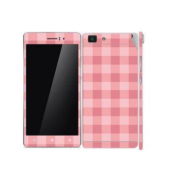 Snooky 41360 Digital Print Mobile Skin Sticker For OPPO R5 - Pink