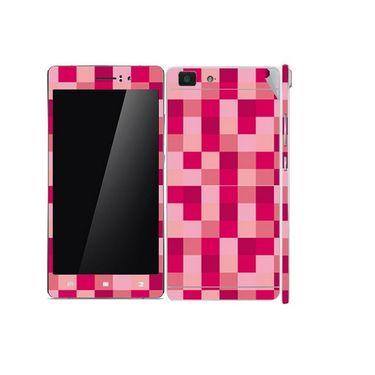 Snooky 41361 Digital Print Mobile Skin Sticker For OPPO R5 - Purple