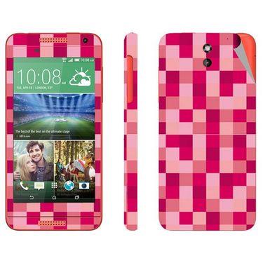 Snooky 41389 Digital Print Mobile Skin Sticker For HTC Desire 610 - Purple