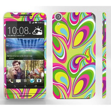 Snooky 41401 Digital Print Mobile Skin Sticker For HTC Desire 820 - multicolour