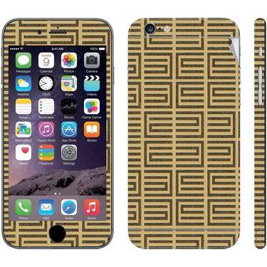 Snooky 41540 Digital Print Mobile Skin Sticker For Apple Iphone 6 - Brown