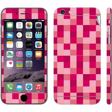 Snooky 41543 Digital Print Mobile Skin Sticker For Apple Iphone 6 - Purple