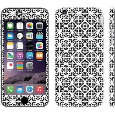 Snooky 41550 Digital Print Mobile Skin Sticker For Apple Iphone 6 Plus - White