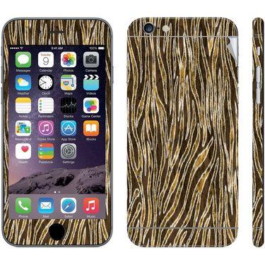 Snooky 41553 Digital Print Mobile Skin Sticker For Apple Iphone 6 Plus - Brown