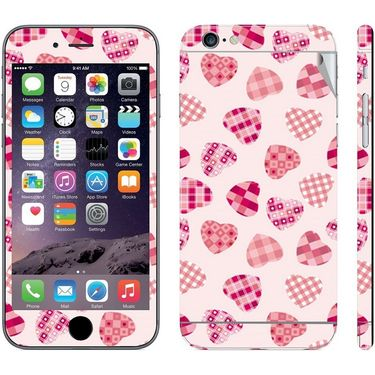 Snooky 41558 Digital Print Mobile Skin Sticker For Apple Iphone 6 Plus - White