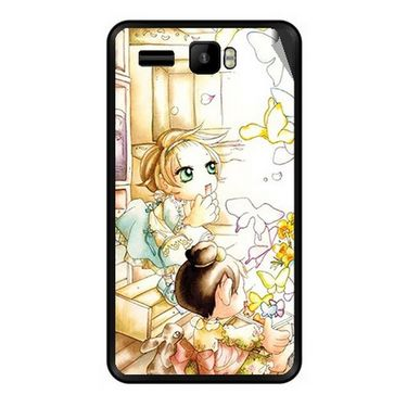 Snooky 42148 Digital Print Mobile Skin Sticker For Intex Aqua R3 - White