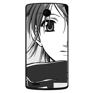 Snooky 42197 Digital Print Mobile Skin Sticker For Intex Aqua Star Power - Grey