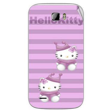 Snooky 42381 Digital Print Mobile Skin Sticker For Intex Cloud Z5 - Pink