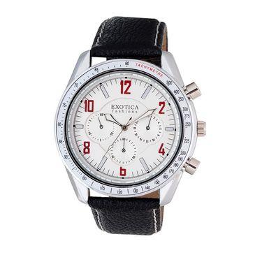 Exotica Fashions Analog Round Dial Watches_E16ls13 - White