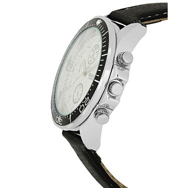 Exotica Fashions Analog Round Dial Watches_E10ls18 - White