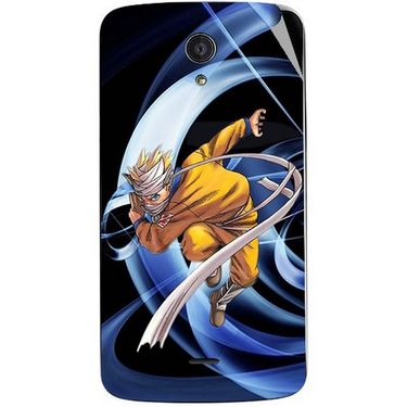 Snooky 47422 Digital Print Mobile Skin Sticker For Xolo Omega 5.0 - Blue