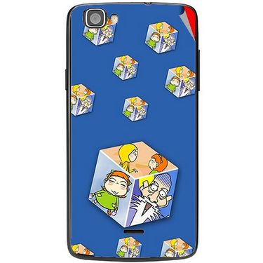 Snooky 47503 Digital Print Mobile Skin Sticker For Xolo One - Blue