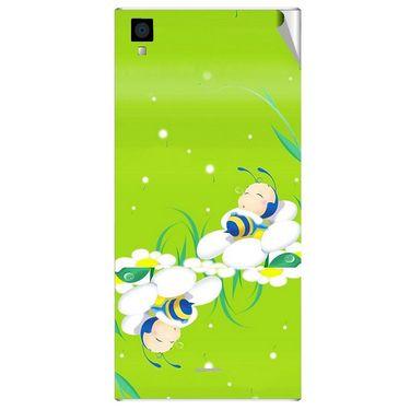 Snooky 47546 Digital Print Mobile Skin Sticker For Xolo Q600s - Green