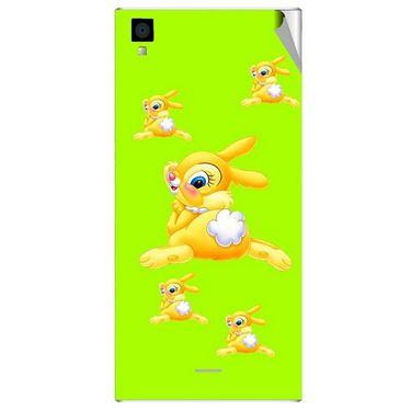 Snooky 47554 Digital Print Mobile Skin Sticker For Xolo Q600s - Green