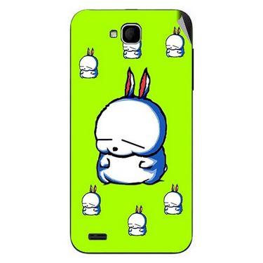Snooky 47677 Digital Print Mobile Skin Sticker For Xolo Q800 - Green
