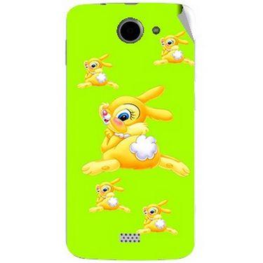 Snooky 47778 Digital Print Mobile Skin Sticker For Xolo Q1000 - Green