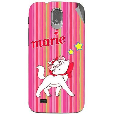 Snooky 48000 Digital Print Mobile Skin Sticker For Xolo Play T1000 - Pink