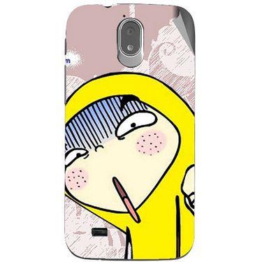 Snooky 48016 Digital Print Mobile Skin Sticker For Xolo Play T1000 - Multicolour