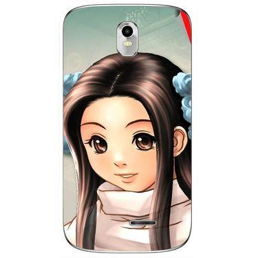 Snooky 48373 Digital Print Mobile Skin Sticker For Lava Iris 402 Plus - Multicolour