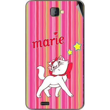 Snooky 48479 Digital Print Mobile Skin Sticker For Lava Iris 502 - Pink
