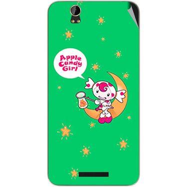 Snooky 48854 Digital Print Mobile Skin Sticker For Lava Iris X1 Grand - Green