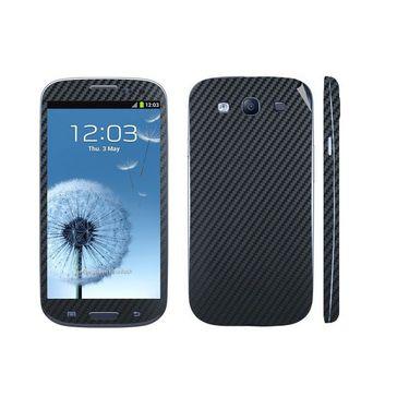 Snooky 18255 Mobile Skin Sticker For Samsung Galaxy S3 I9300 - Black