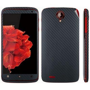 Snooky 18691 Mobile Skin Sticker For Lenovo S820 - Black