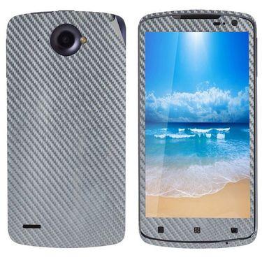 Snooky 18700 Mobile Skin Sticker For Lenovo S920 - Silver