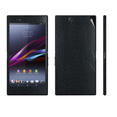 Snooky 19195 Mobile Skin Sticker For Sony Xperia Z Ultra - Black