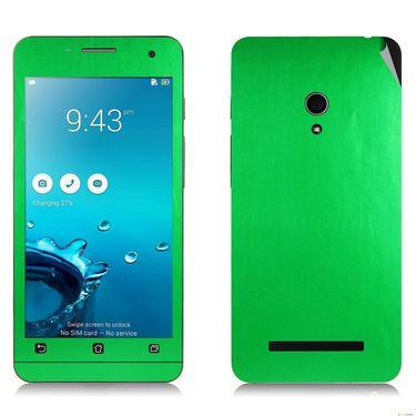 Snooky 20535 Mobile Skin Sticker For Asus Zenfone 5 - Green
