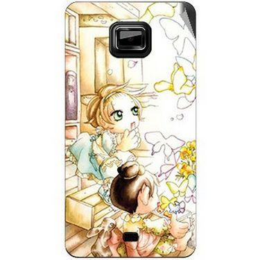Snooky 42489 Digital Print Mobile Skin Sticker For Micromax Ninja A91 - White