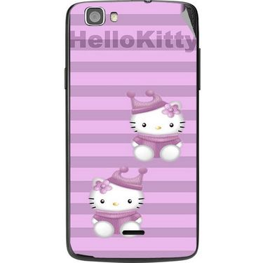 Snooky 42986 Digital Print Mobile Skin Sticker For Xolo Q610S - Pink