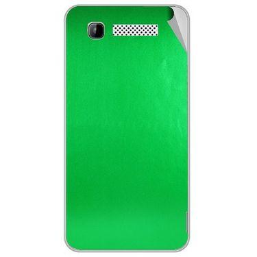 Snooky 43156 Mobile Skin Sticker For Intex Aqua 3g - Green