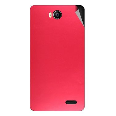 Snooky 43162 Mobile Skin Sticker For Intex Aqua 4.5e - Red