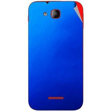 Snooky 43184 Mobile Skin Sticker For Intex Aqua CURVE - Blue