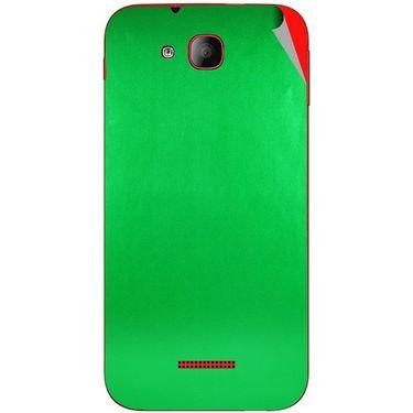 Snooky 43204 Mobile Skin Sticker For Intex Aqua CURVE Mini - Green